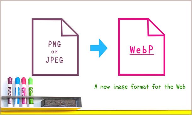 次世代フォーマットと呼ばれる WebP とは?